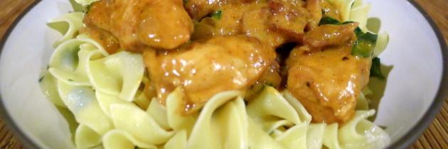 Chicken Paprikas Dinner